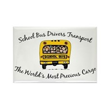 School Bus Drivers Rectangle Magnet (10 pack)