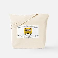 School Bus Drivers Tote Bag