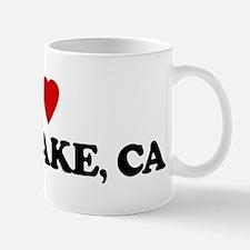 I Love BASS LAKE Mug