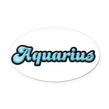 gem-zodiac-aquarius-aquamar.jpg Oval Car Magnet