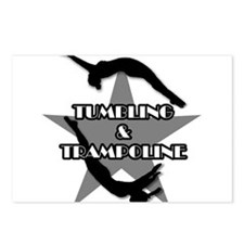 Tumbling and trampoline Postcards (Package of 8)