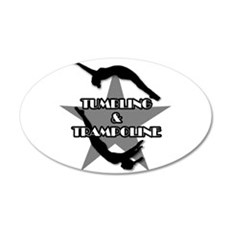 Tumbling and trampoline Wall Decal