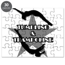Tumbling and trampoline Puzzle