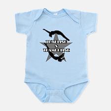 Tumbling and trampoline Infant Bodysuit
