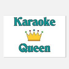 Karaoke Queen Postcards (Package of 8)