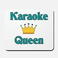 Karaoke Queen Mousepad
