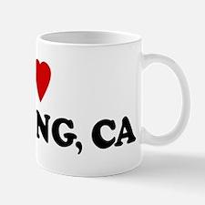 I Love BANNING Mug