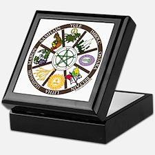 Wheel of the Year Keepsake Box