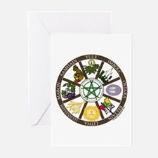 Wheel of the Year Greeting Cards (Pk of 10)