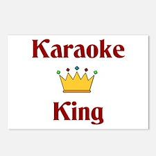 Karaoke King Postcards (Package of 8)