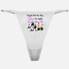 LEGAL ASSISTANT Classic Thong
