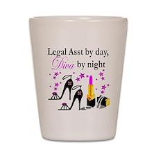LEGAL ASSISTANT Shot Glass