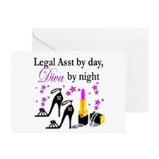 LEGAL ASSISTANT Greeting Card