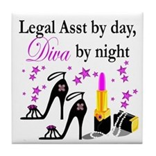 LEGAL ASSISTANT Tile Coaster