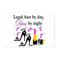 LEGAL ASSISTANT Postcards (Package of 8)