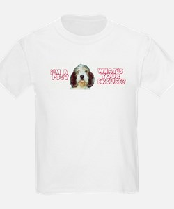 PBGV excuse Kids T-Shirt
