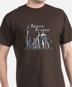 Space Cruise - sci-fi vintage