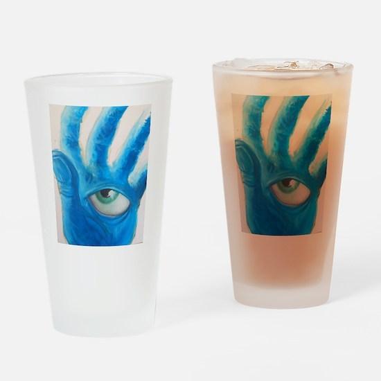 A Watchful Eye Drinking Glass