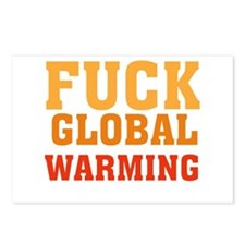 Fuck Global Warming Postcards (Package of 8)
