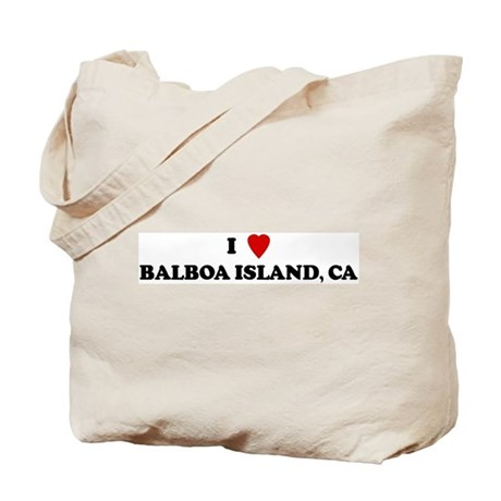 I Love BALBOA ISLAND Tote Bag