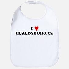 I Love HEALDSBURG Bib