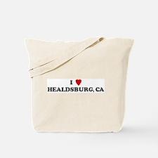 I Love HEALDSBURG Tote Bag