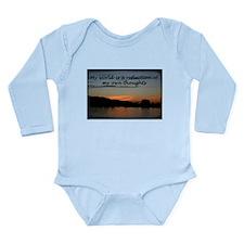 Modivation inspiration Long Sleeve Infant Bodysuit