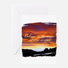 Power of intention Greeting Card