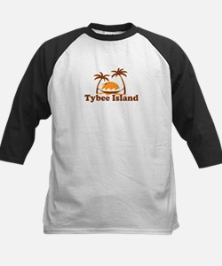Tybee Island GA - Palm Trees Design. Tee
