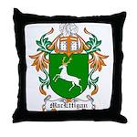 MacEttigan Coat of Arms Throw Pillow