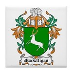MacEttigan Coat of Arms Tile Coaster