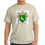 MacEttigan Coat of Arms Ash Grey T-Shirt