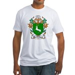 MacEttigan Coat of Arms Fitted T-Shirt