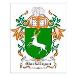 MacEttigan Coat of Arms Small Poster