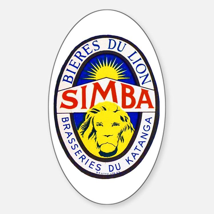 Congo Beer Label 5 Decal