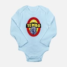 Congo Beer Label 1 Long Sleeve Infant Bodysuit