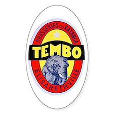 Congo Beer Label 1 Decal