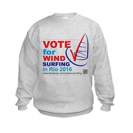 Vote for Windsurfing in Rio 2016 Kids Sweatshirt