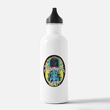Croatia Beer Label 3 Water Bottle