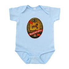 Croatia Beer Label 2 Infant Bodysuit