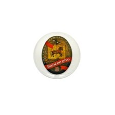Croatia Beer Label 2 Mini Button (10 pack)
