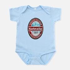 Croatia Beer Label 1 Infant Bodysuit