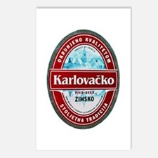 Croatia Beer Label 1 Postcards (Package of 8)