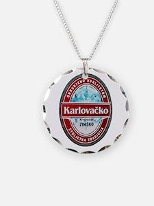 Croatia Beer Label 1 Necklace