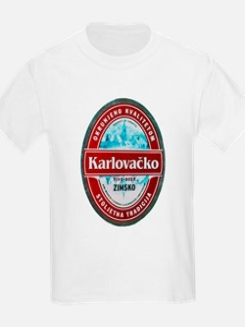Croatia Beer Label 1 T-Shirt