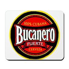 Cuba Beer Label 5 Mousepad