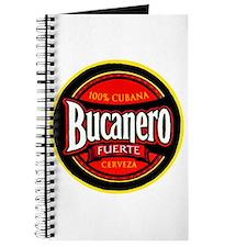 Cuba Beer Label 5 Journal
