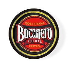 Cuba Beer Label 5 Wall Clock