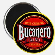 "Cuba Beer Label 5 2.25"" Magnet (100 pack)"