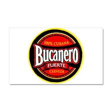 Cuba Beer Label 5 Car Magnet 20 x 12